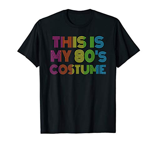 Dies ist mein 80er Jahre Kostüm - 80er Jahre Ära Kostüm