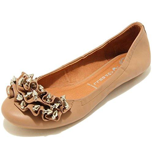 7778F ballerina JEFFREY CAMPBELL RUFFLE scarpa donna shoes women [37]