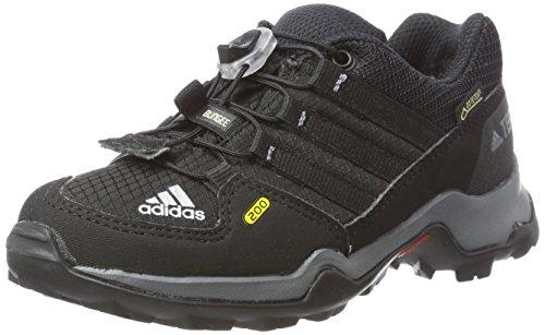Adidas Terrex GTX K, Zapatillas de Cross Unisex Niños, Negro (Core Black/Core Black/Vista Grey S15), 33 EU