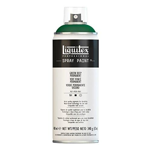 Liquitex Professional Peinture Acrylique Aérosol 400 ml Vert Foncé