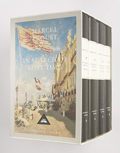 In Search Of Lost Time Boxed Set (4 Volumes) (Everyman's Library)