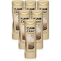6x Dove Summer Glow Body Lotion for Normal to Dark