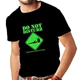 Männer T-Shirt Blut-Alkohol-Experiment im Gange - lustige Trinkhemden (XX-Large Schwarz Grün)