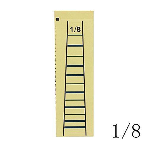 kenthia 1Violine Geige Griffbrett Diagramm Aufkleber für 4/43/41/21/41/8Violine 1/8