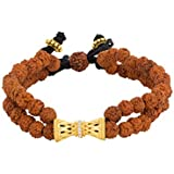 Voylla Cubic Zirconia Beaded Bracelet for Men (Multi Colour)(8907617779256)