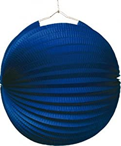 Amscan farolillo azul ignifugé diámetro-25cm