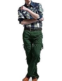 Newfacelook Pantalon Cargo Combat Trousers Jeans Militaires Work Wear Pants
