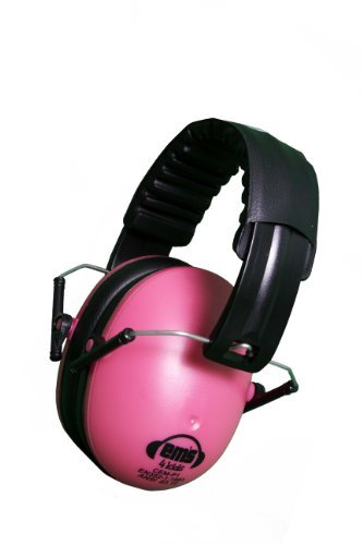 Em's 4 Kids Hearing Protection Earmuffs Noise Protection (Pink) Color: Pink (Baby/Babe/Infant - Litt