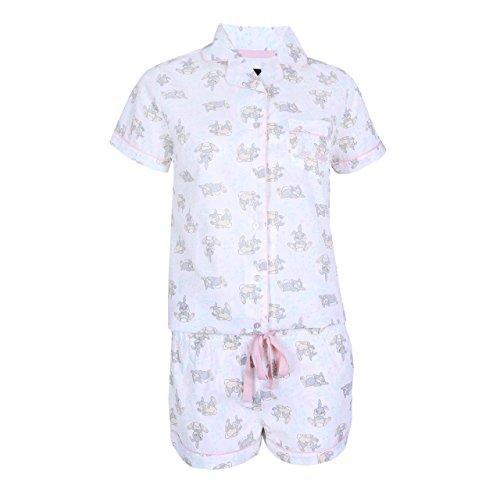 Cremefarbener Schlafanzug Klopfer Disney - 32-34 / UK 6-8 / EU 34-36