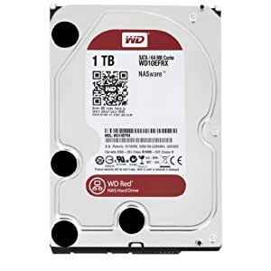 WD Red 1TB Internal NAS Hard Drive (WD10EFRX)