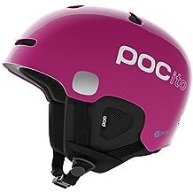 Poc Pocito Auric Cut Spin Casco, Unisex Niños, Rosa (Fluorescent Pink), M-L 55-58