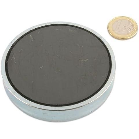 Monitores de lino colonizador diámetro 80,0 x 18,0 mm, cinc - hasta 60 kg