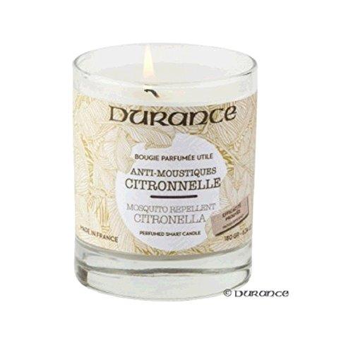 Bougie Parfumée Citronnelle Anti-Moustiques