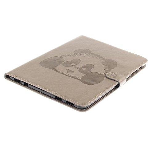 Vandot Smart Housse Case Coque étui pour Samsung Galaxy Tab S2 9.7 Pouces SM-T810 T815 Tablette Coque avec Support et fermeture magnétique et Carte Slots Ultra Slim Léger Smart Cover Case Flip étui en Tablet-Panda-2