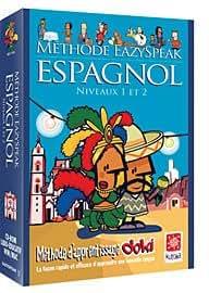 Méthode Eazyspeak : Espagnol (Niveau 1 et 2)