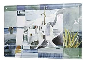 Amazon.de: Blechschild Galerie Maler Franz Heigl Bild