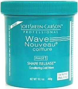 Wave Nouveau Gel liquide revitalisant et hydratant Shape Release pour cheveux normaux à moyens - Pot de 417 ml