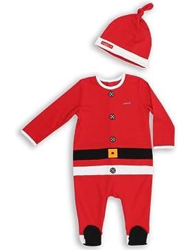 The Essential One - Baby Strampler Weihnachtsmannkostüm EO148