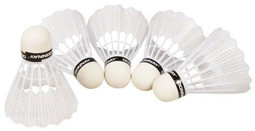Badmintonbälle-Set. 5-teilig. Kunststoff