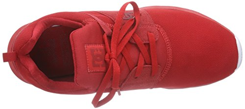 Dc Shoes - Heathrow, Sneakers, unisex Rosso (Rot (Red/White RW2))