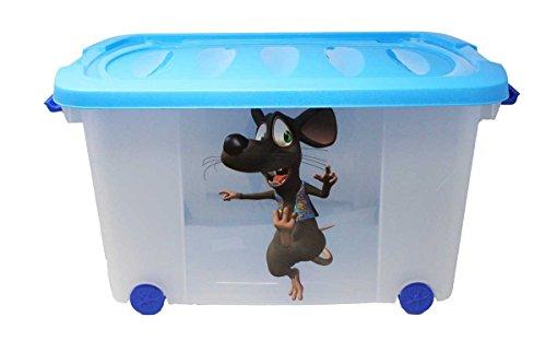 Spielzeugkiste (Multibox) mit Rollen (Maus-Multi)