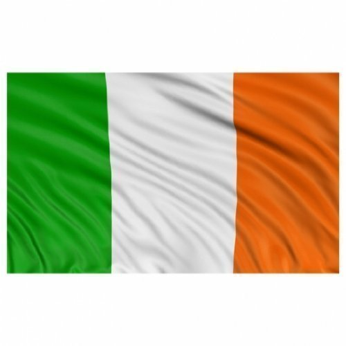 BRAND NEW 5ftx 3ft IRELAND TRI COLOURS FLAG