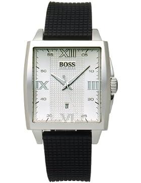 Hugo Boss Herren-Armbanduhr Analog Quarz Kautschuk 1512440