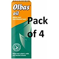 Olbas Oil Inhalant Decongestant 28ML - PACK OF 4
