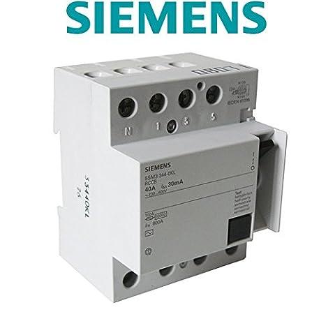Interrupteur différentiel 4 pôles 30mA 40A Type