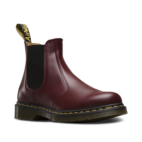 DR MARTENS Stivale 2976 Chelsea YS Cherry 40 Rosso