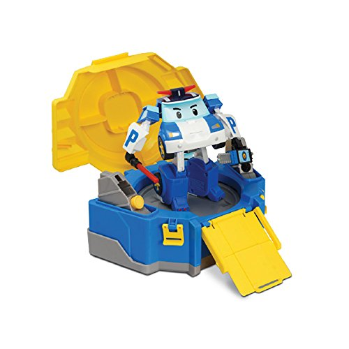 Rocco Juguetes 83072-Robocar Poli Pines Convertible con maletín