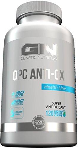 Anti-alkohol Antioxidantien (GN Laboratories OPC Anti-OX Antioxidantien Unterstützung Des Immunsystems Natürlicher Pflanzenextrakte 120 Vegy Caps)