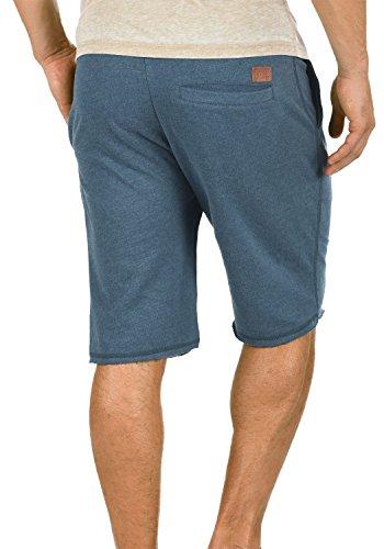 BLEND Grobmo Sweat-Shorts kurze Hose Sport-Shorts aus hochwertiger Baumwollmischung Ensign Blue (70260)