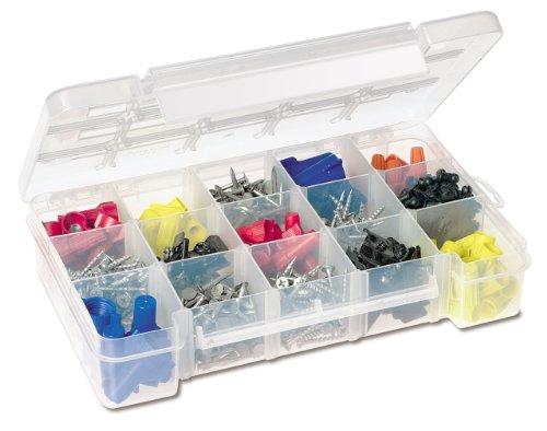 Akro Mils 5705 Teile-Aufbewahrungstasche für Hardware Und Handarbeiten, Klein, Transparent -
