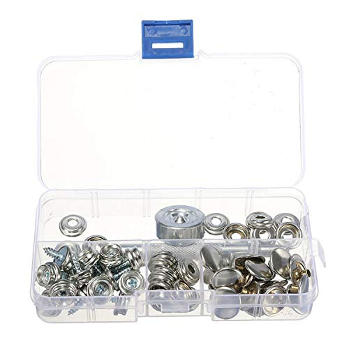Marine Hardware Motivated Snap Fastener Button Screw Studs Kit For Boat Canvas Fabric Home Improvement Automobiles & Motorcycles