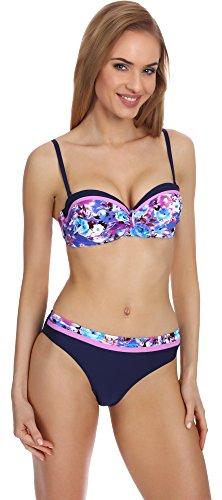Merry Style Damen Push Up Bikini Set P509-53MIA Muster-2