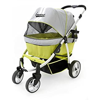 Innopet Pet Stroller, IPS-06, dog carrier, trolley, Trailer, Buggy Retro. Foldable pet buggy, pushchair, pram for dogs and cats 41YzaSDC4wL