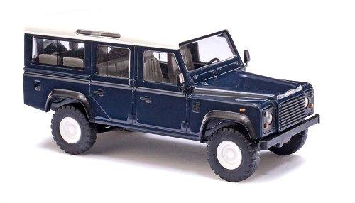Busch Voitures - BUV50302 - Modélisme Ferroviaire - Land Rover Defender - Bleu