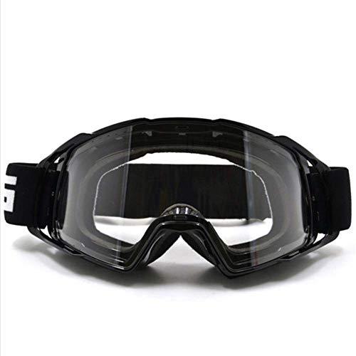 ZDWL Motocrossbrille Brille Sonnenbrille Schnee Ski Gesichtsmaske Sport Racing Radfahren Motor MX HelmbrilleD