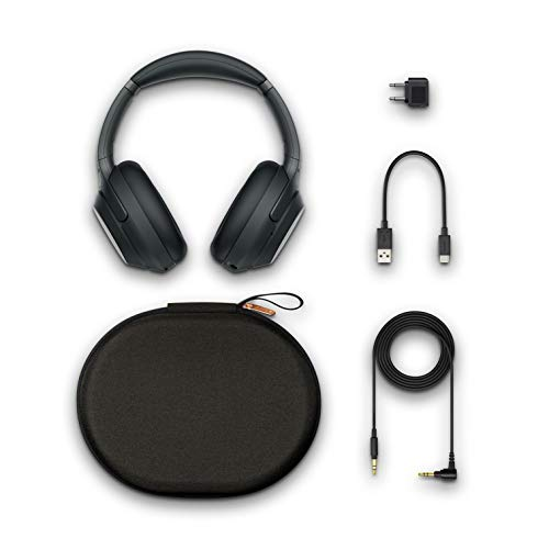 Sony WH-1000XM3 Wireless Industry Leading Noise Cancellation Headphones with Alexa (Black) Image 10