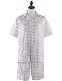Pyjashort homme 100% coton Blanc