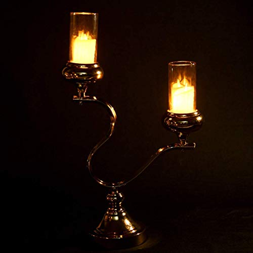 OFFER-WORLD-Wedding-Centerpiece-Candle-Holder-Stand-Decor-Gold-Metal-Candle-Holder-for-Weddings-Special-Events-Parties