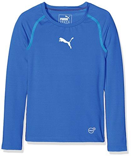 Puma Kinder T-shirt TB Jr Long Sleeve Tee, royal, 140, 654863 02