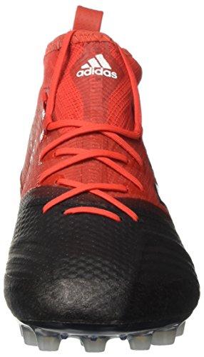 adidas Herren Ace 17.1 Primeknit Ag für Fußballtrainingsschuhe Rot (Rosso Rojo/ftwbla/negbas)