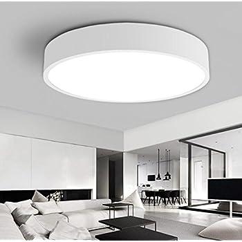 lampada da soffitto camera da letto lampada led bianco moderno rotondo bagno lampada luci. Black Bedroom Furniture Sets. Home Design Ideas