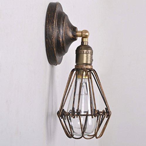 Lampe Murale Rétro Lampe De Cérumen Pour Oiseaux À Vent Industriel Luminaire De Mur Intérieur Créatif Et Simple Lampe De Chevet Light Light E27 Light Light * 40W