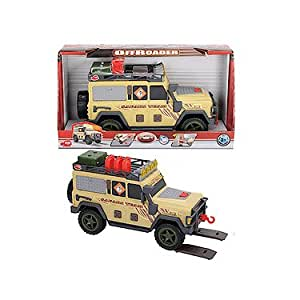 Dickie Toys – Action Series – Off Roader – Véhicule 4x4 Sonore