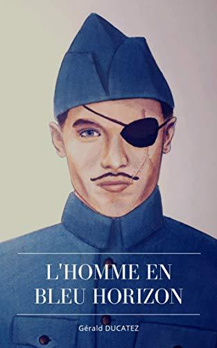 Couverture du livre L'HOMME EN BLEU HORIZON