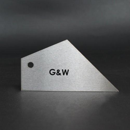 G&W Outil de nivellement des frettes