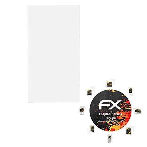 atFolix Panzerfolie kompatibel mit Acer Aspire 7 A717-71G 17,3 inch Schutzfolie, entspiegelnde & stoßdämpfende FX Folie (2X)